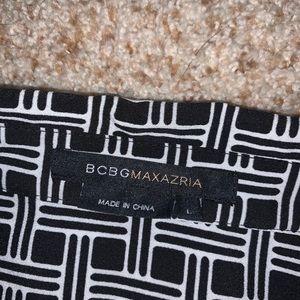 BCBGMaxAzria Tops - BCBGMAXAZRIA black and white button down top